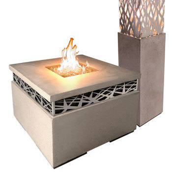 Fire Features & Outdoor Fireplaces