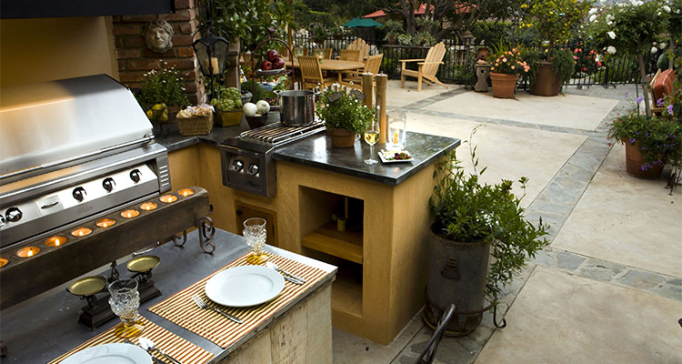 FlameTech Fireplace, Grill U0026 Outdoor Kitchen In Florida